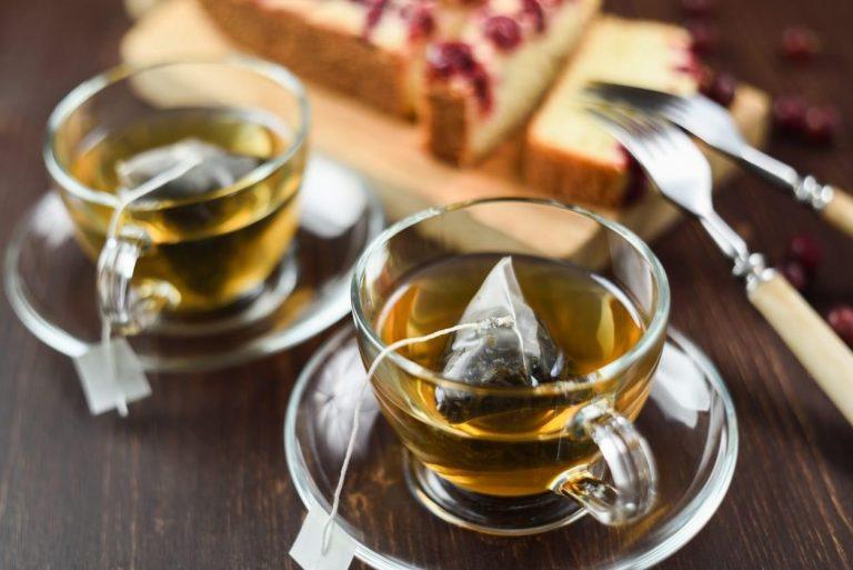 чай в виде человека